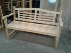 Idigbo garden bench